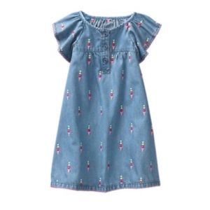 Gymboree Denim Icecream Dress